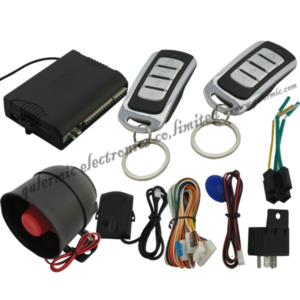 Ultrasonic car alarm