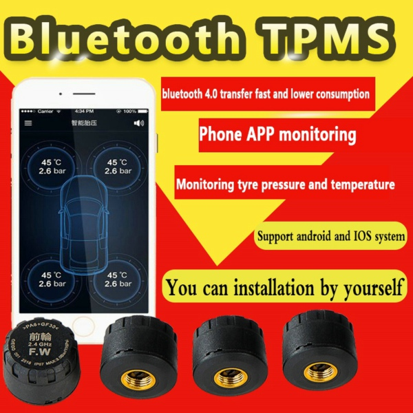 Car Bluetooth TPMS